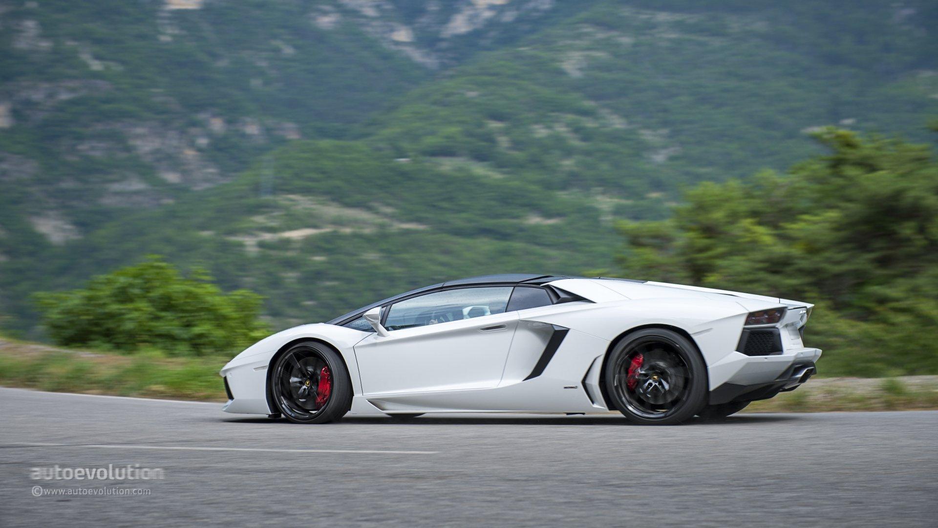 2014 lamborghini aventador roadster cars supercars white wallpaper 1920x1080 805797 wallpaperup - Lamborghini Aventador Roadster Wallpaper Hd 19201080