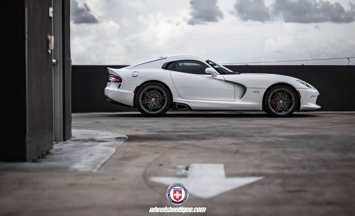 SRT Viper cars coupe HRE wheels wallpaper