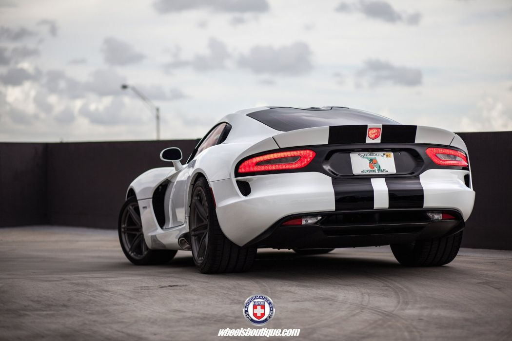 SRT Viper cars coupe HRE wheels wallpaper