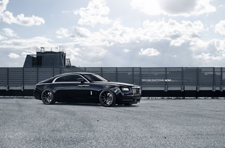 ROLLS ROYCE WRAITH cars luxury adv1 wheels black wallpaper