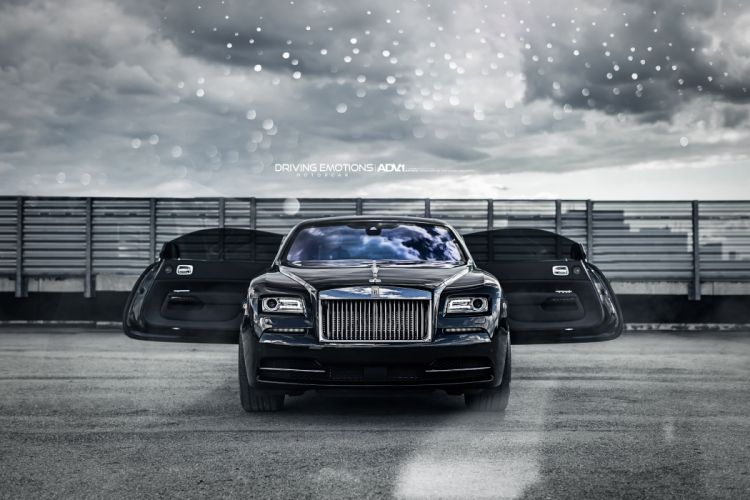ROLLS ROYCE WRAITH cars luxury adv1 wheels black wallpaper