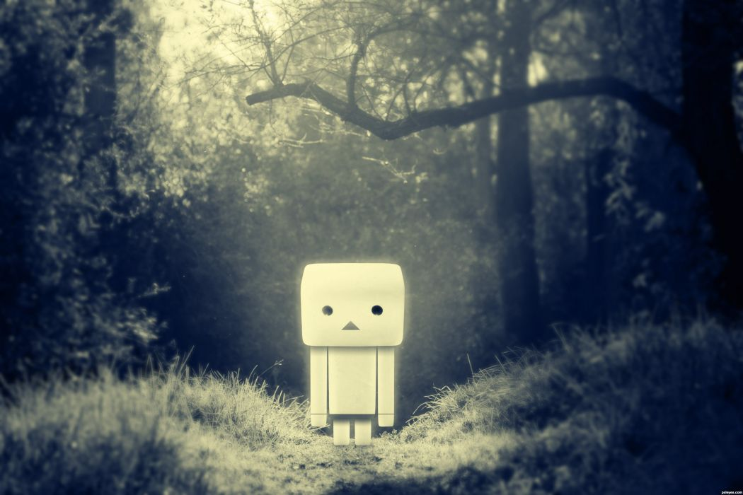 depression sad mood sorrow dark people danbo wallpaper
