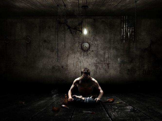 depression sad mood sorrow dark people love wallpaper