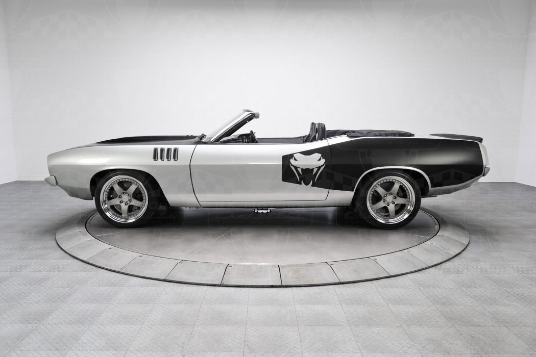 1971 Plymouth Cuda convertible cars supercharger wallpaper