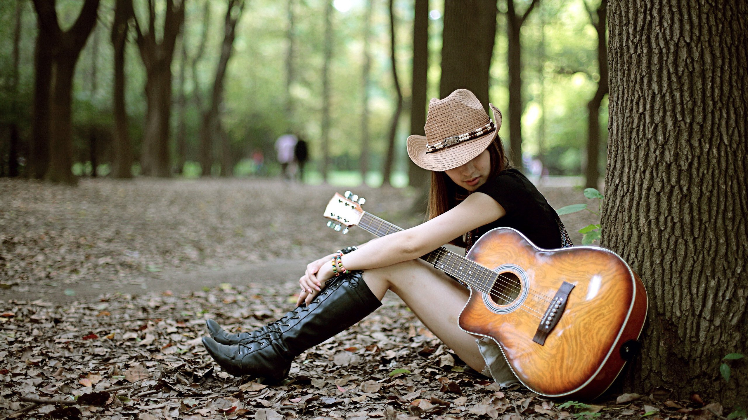 Love Wallpaper With Guitar : Sad Girls With Guitar www.pixshark.com - Images ...