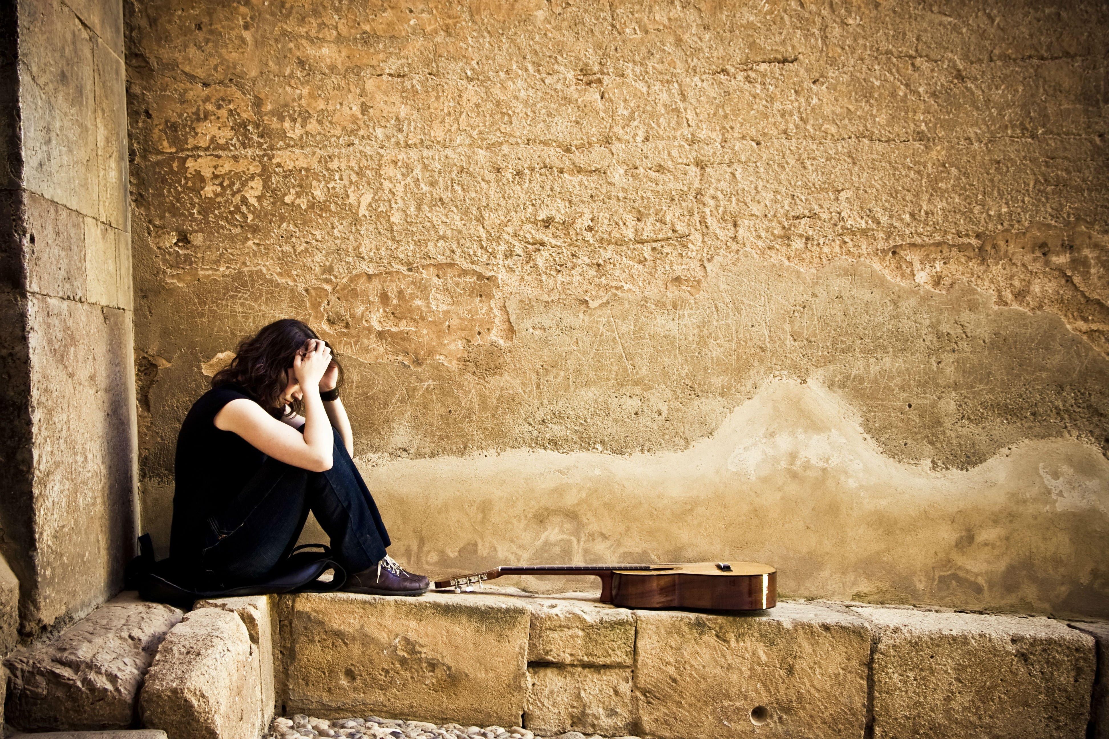 Sad Love Wallpaper Free Download 1 Hd Wallpaper: Depression Sad Mood Sorrow Dark People Love Wallpaper