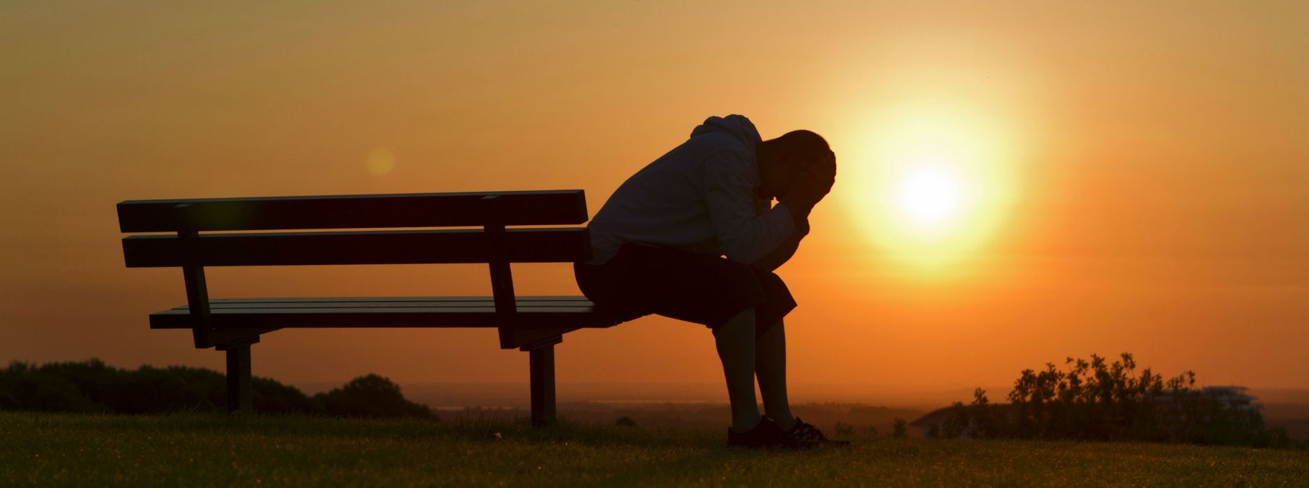 sad mood sorrow dark people love sunset wallpaper