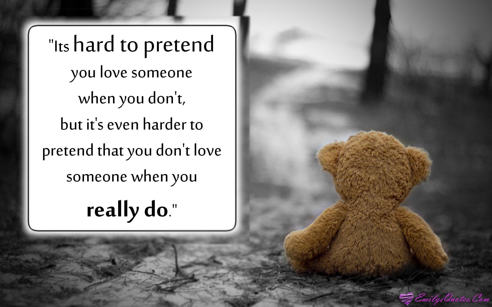 Sad mood sorrow dark people love teddy bear wallpaper - Sad heart wallpapers love ...