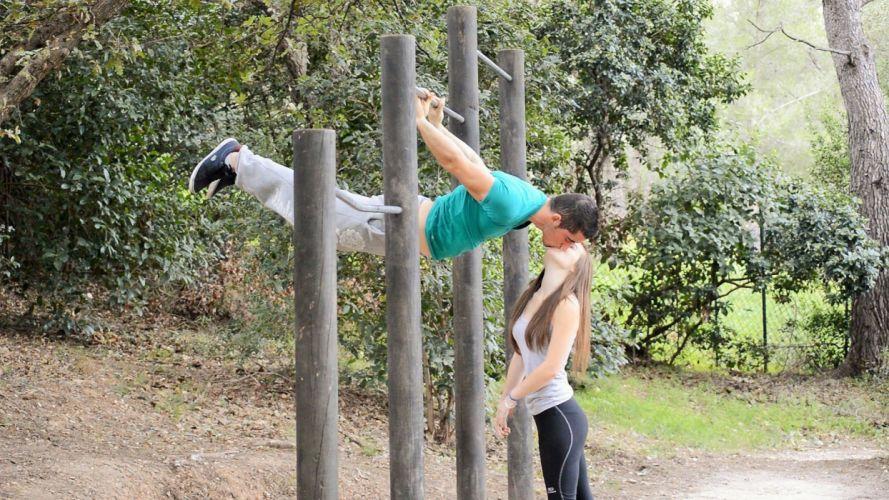 couple love mood people men women fitness wallpaper