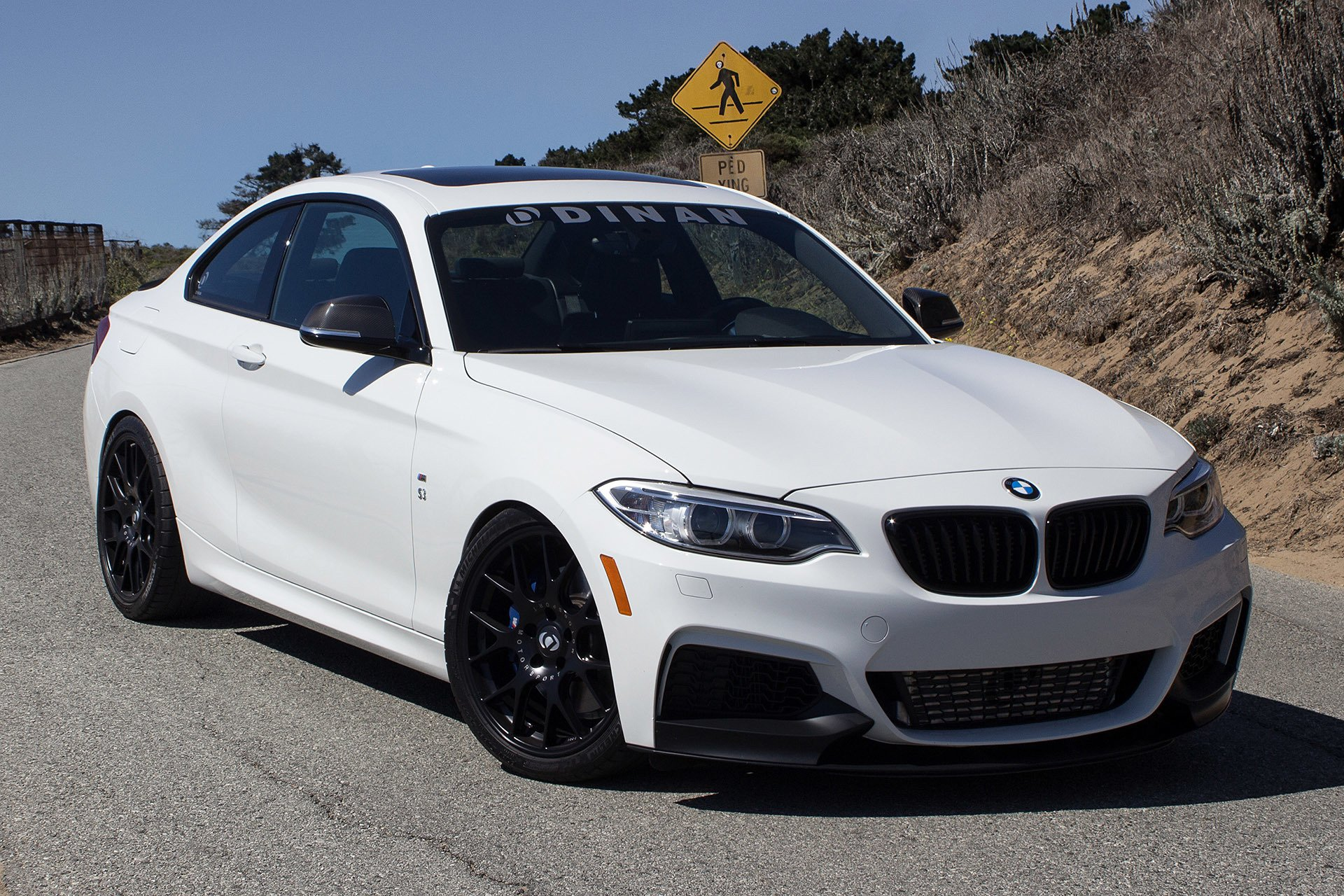 2015 Dinan M235i Bmw Cars Coupe White Modified Wallpaper