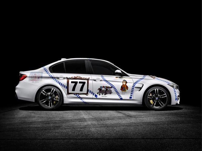 2015 BMW-M3 bmw cars coupe Oktoberfest modified wallpaper