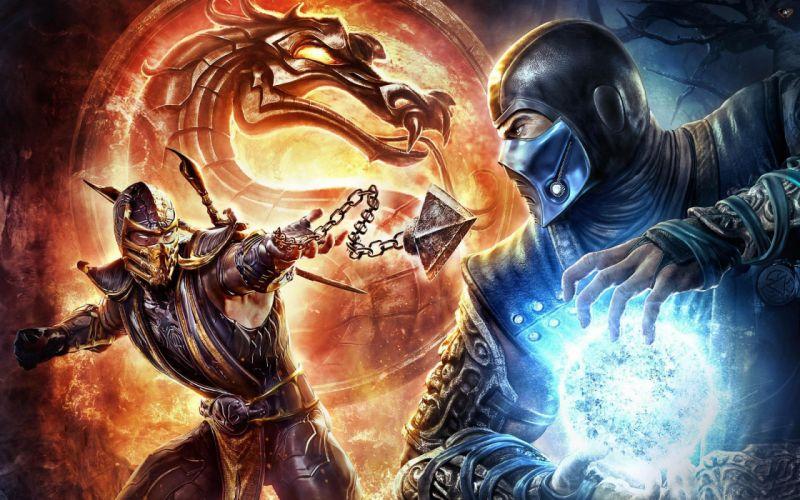 mortal combat video juego luchas wallpaper