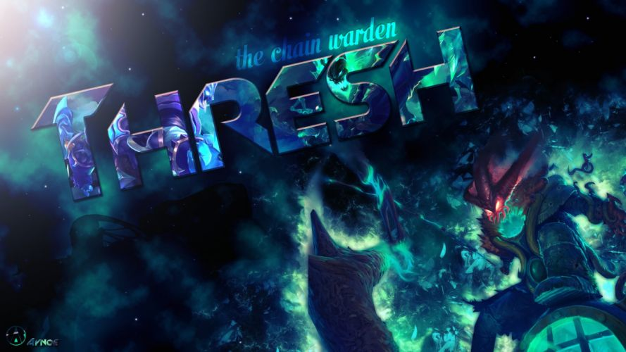 Thresh Champion League Of Legends HD wallpaper