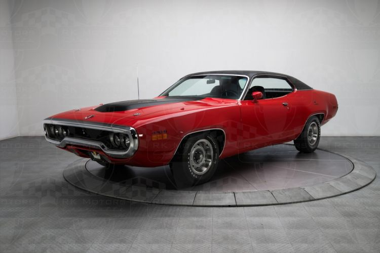 1971 Plymouth Road Runner cars coupe red wallpaper