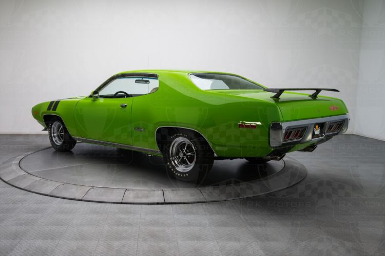 1971 cars Coupe plymouth gtx green wallpaper