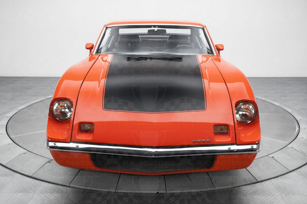 Ford Torino King Cobra Cars Coupe Orange Wallpaper