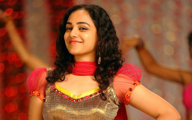 nithya menon indian actress-wide wallpaper