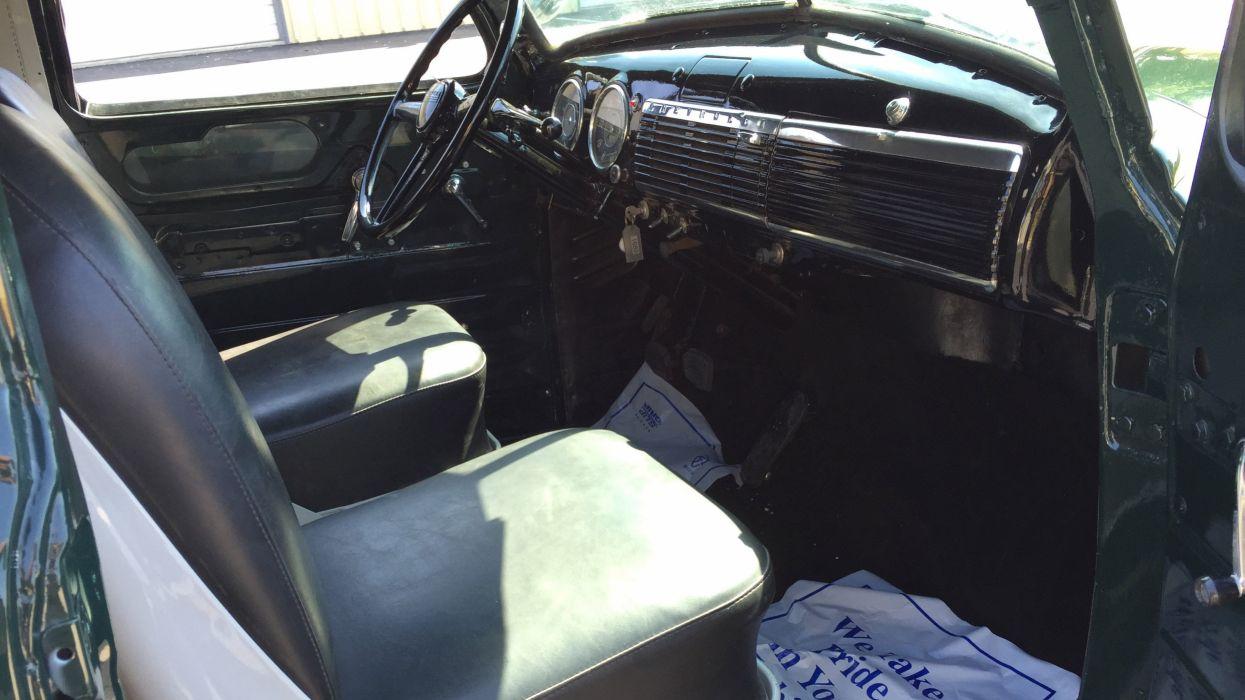 1948 Chevrolet 3100 Panel Van Choppedtop Custom Old School Hot Rod Low -03 wallpaper