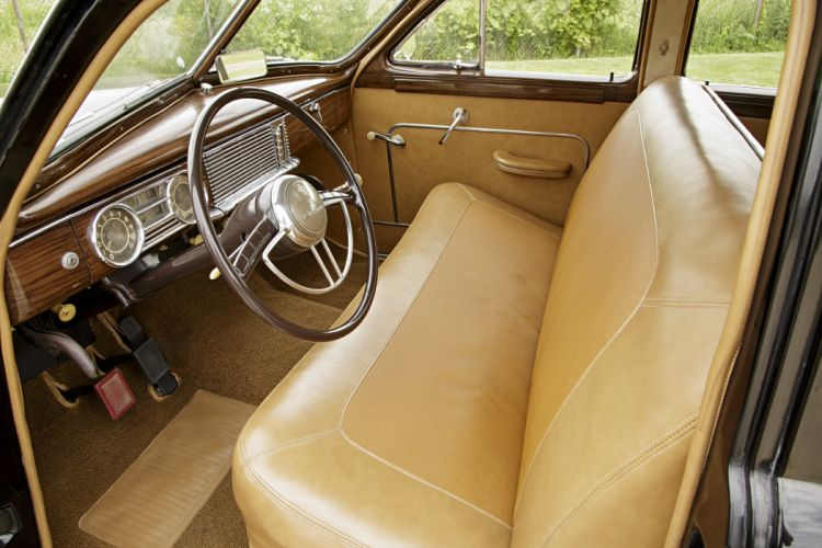 1948 Packard Woody Station Wagon Classic Old Vintage Retro Original USA -04 wallpaper