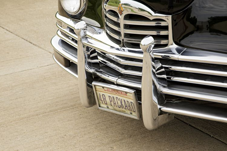 1948 Packard Woody Station Wagon Classic Old Vintage Retro Original USA -06 wallpaper