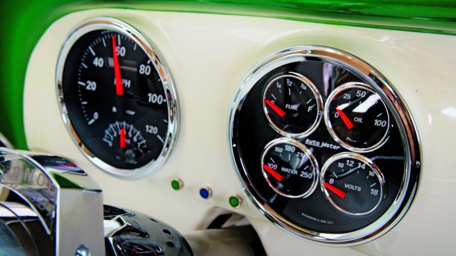 1951 Chevrolet Chevy Bel Air Belair Pro Touring Cruiser Custom Low USA -04 wallpaper