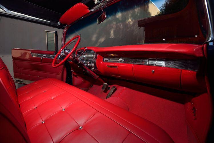 1955 Cadillac Eldorado Convertible Classic Old Vintage Retro Original USA -05 wallpaper