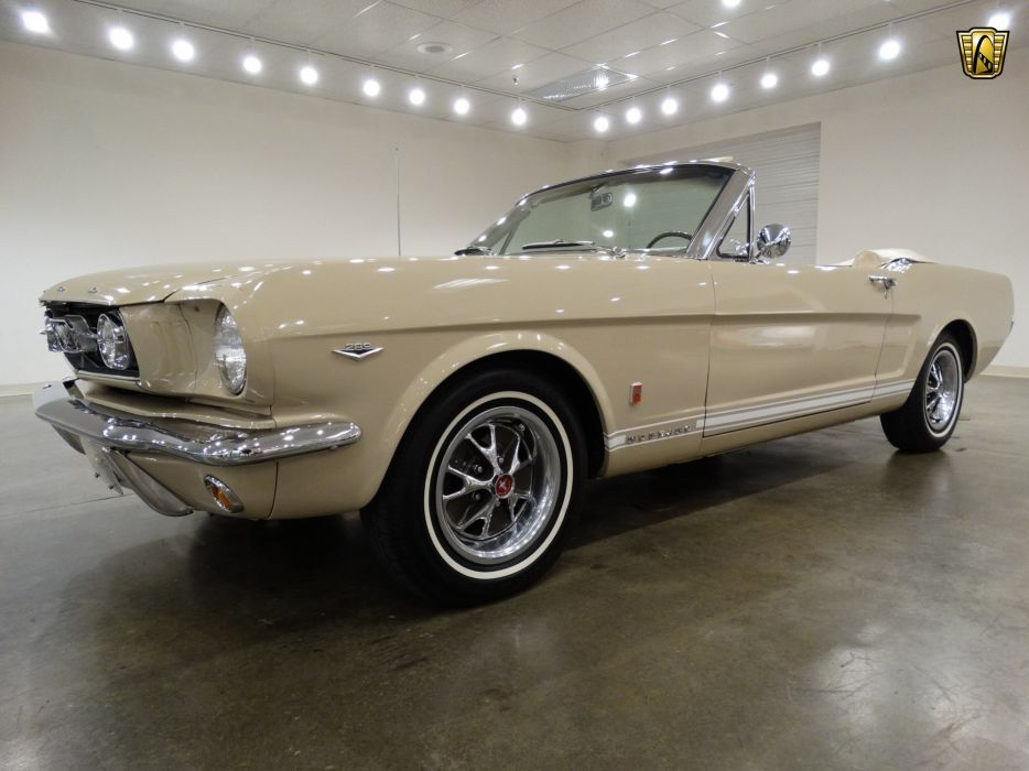 1966 Ford Mustang-GT convertible cars wallpaper