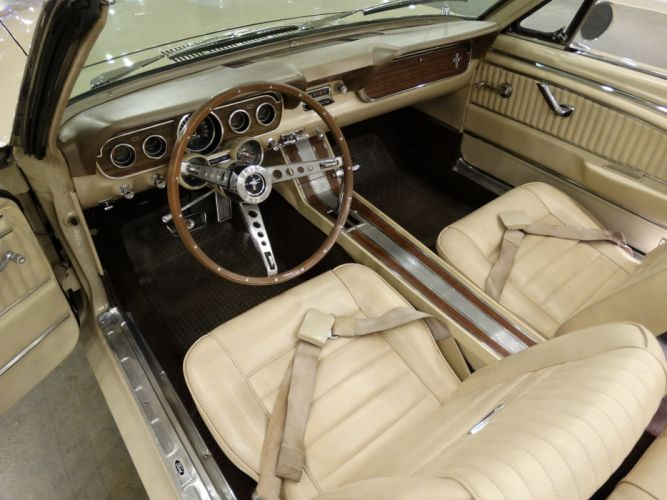 1966 Ford Mustang-GT convertible cars wallpaper