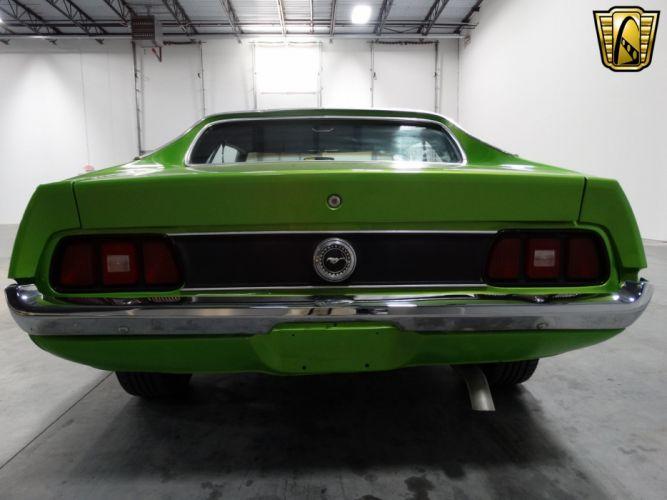 1971 Ford Mustang Grande cars green wallpaper