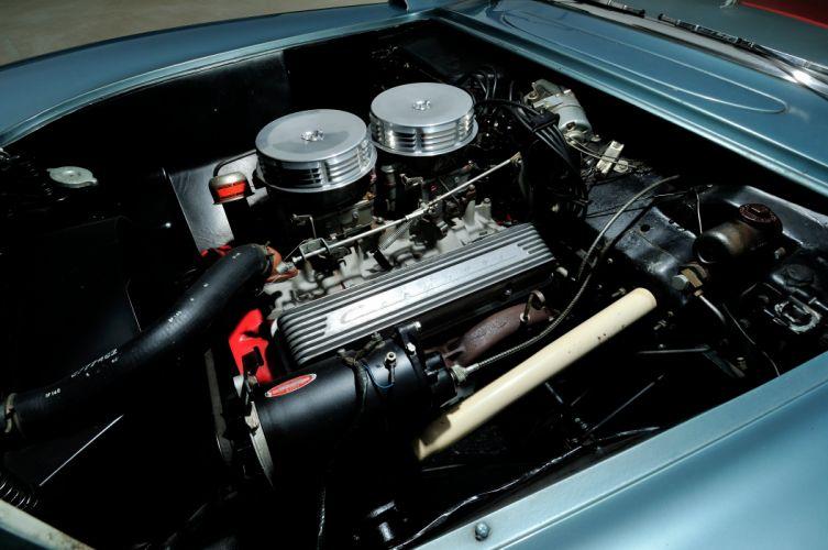 1956 Chevrolet Corvette Convertible Classic Old Retro Vintage Sport USA -06 wallpaper