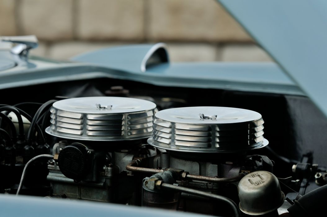 1956 Chevrolet Corvette Convertible Classic Old Retro Vintage Sport USA -07 wallpaper