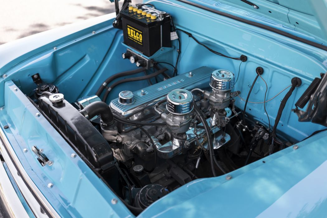 1957 Chevrolet Chevy 3100 Pickup Stepside Classic Old Vintage Retro Original USA -07 wallpaper
