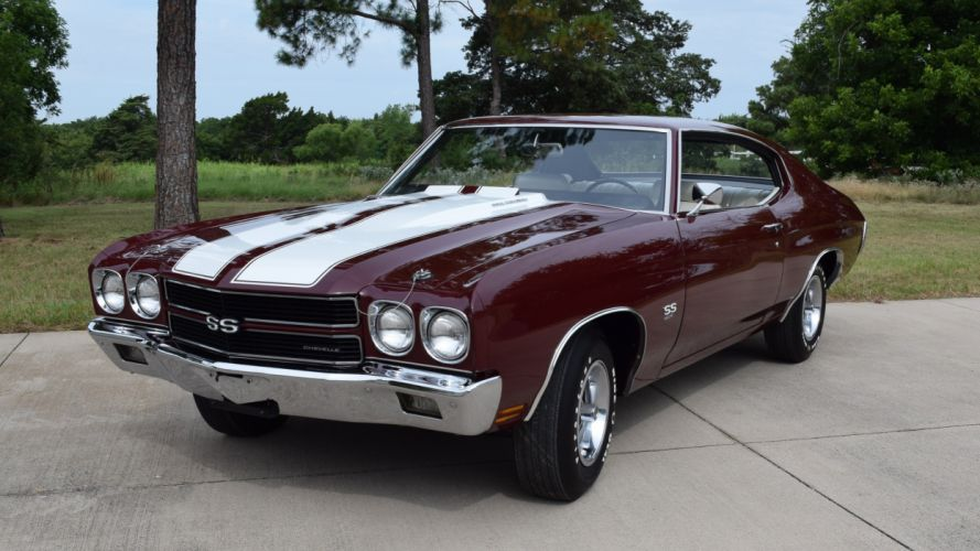 1970 Chevrolet Chevelle LS6 Muscle Classic Old Original USA -01 wallpaper