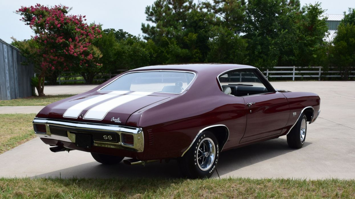1970 Chevrolet Chevelle LS6 Muscle Classic Old Original USA -03 wallpaper