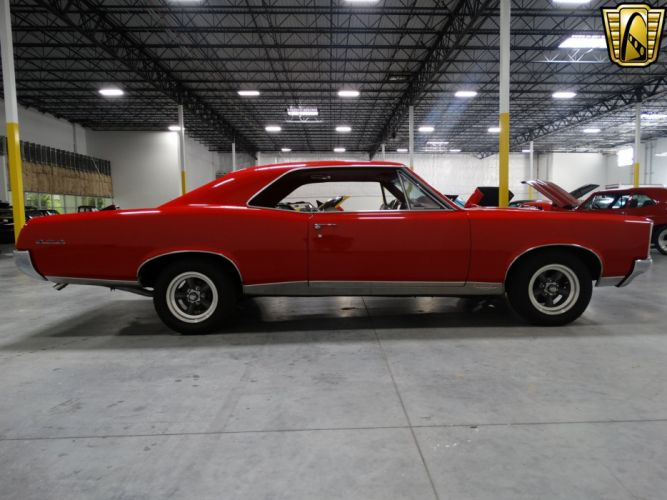 1967 Pontiac GTO cars red wallpaper