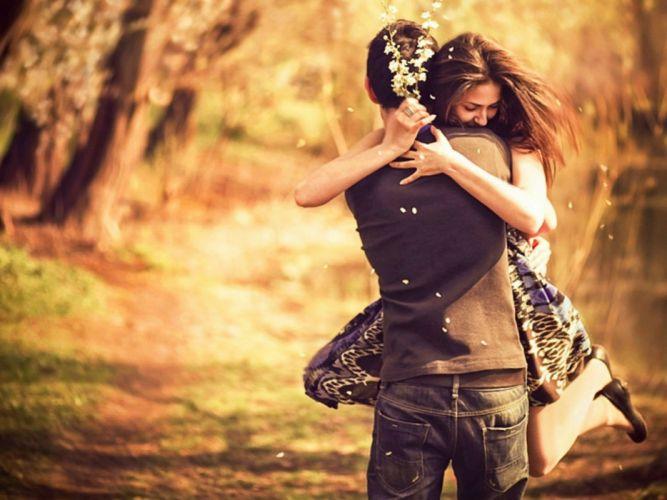 hug hugging couple love mood people men women wallpaper