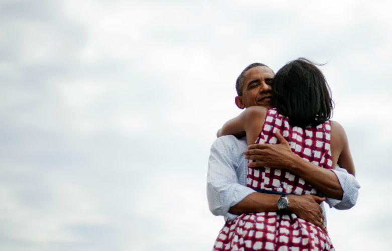 hug hugging couple love mood people men women happy usa president obama wallpaper