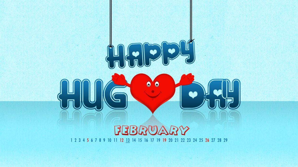 hug hugging couple love mood people men women happy calendar febuary heart poster wallpaper