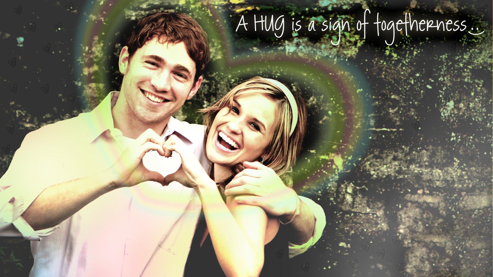 Lovely Hugging Couple Wallpaper Hug Hugging Couple Love Mood