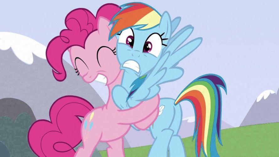 little pony hug hugging couple love mood people men women happy wallpaper