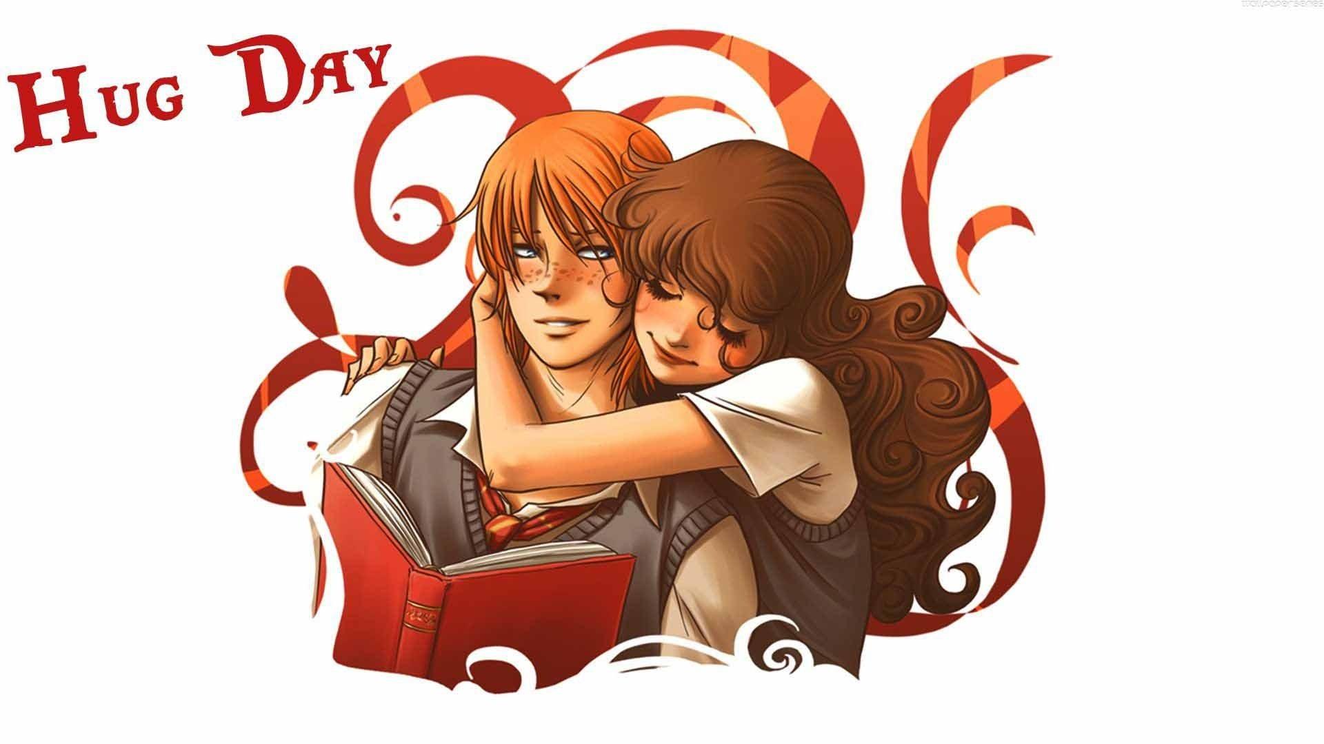 Hug hugging couple love mood people men women happy - Anime hug pics ...