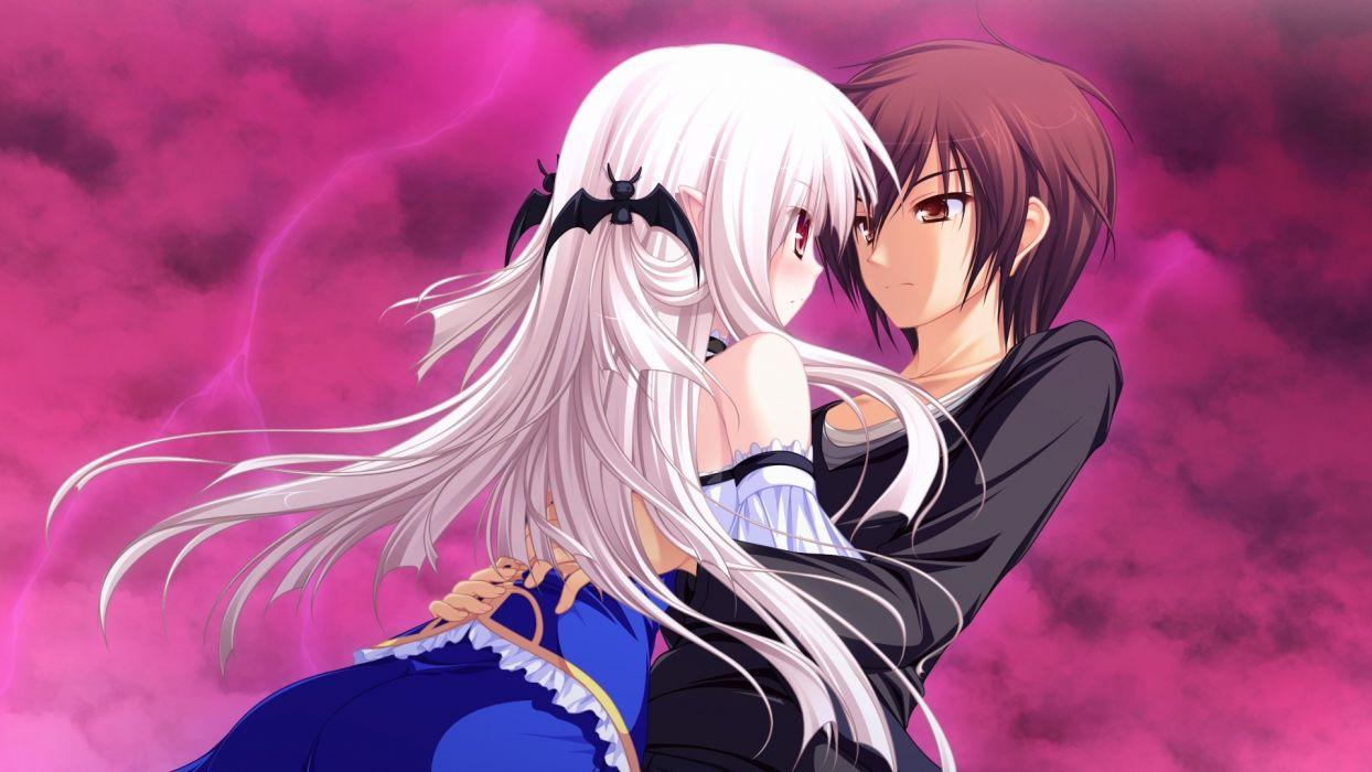 Lunaris Filia hug hugging couple love mood people men women happy b wallpaper