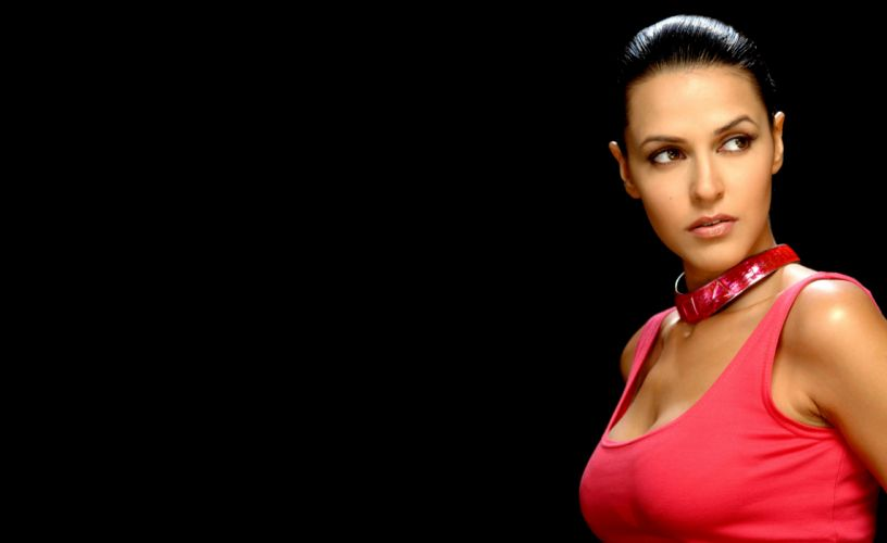 neha dhupia bollywood actress model girl beautiful brunette pretty cute beauty sexy hot pose face eyes hair lips smile figure indian wallpaper