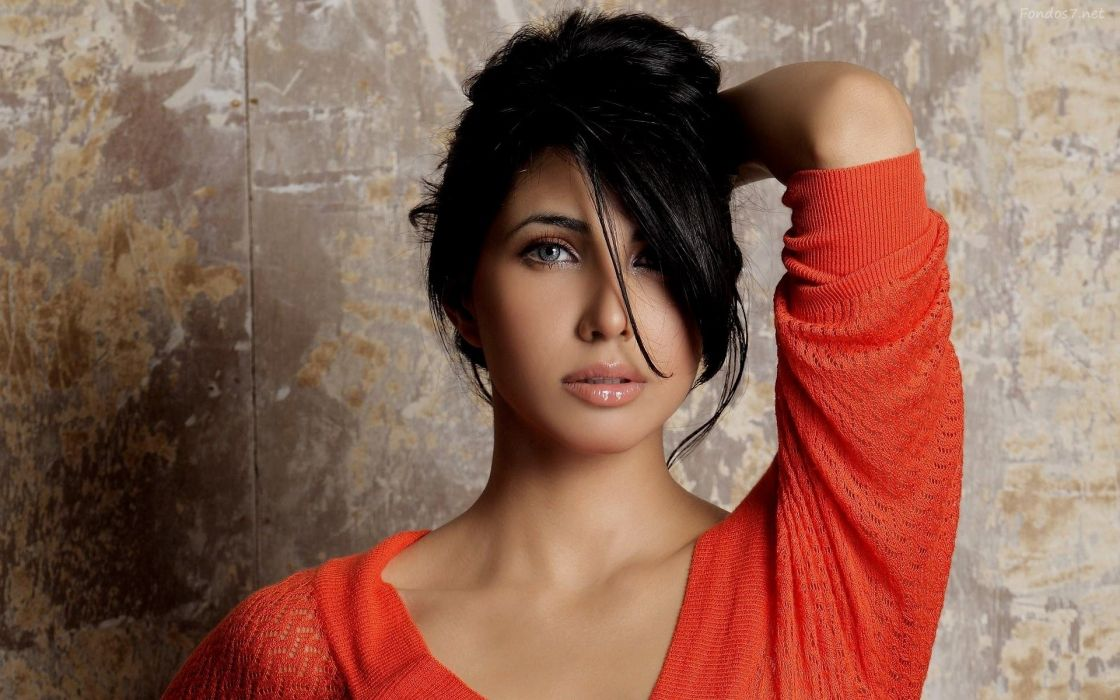 nikita anand bollywood actress model girl beautiful brunette pretty cute beauty sexy hot pose face eyes hair lips smile figure indian  wallpaper