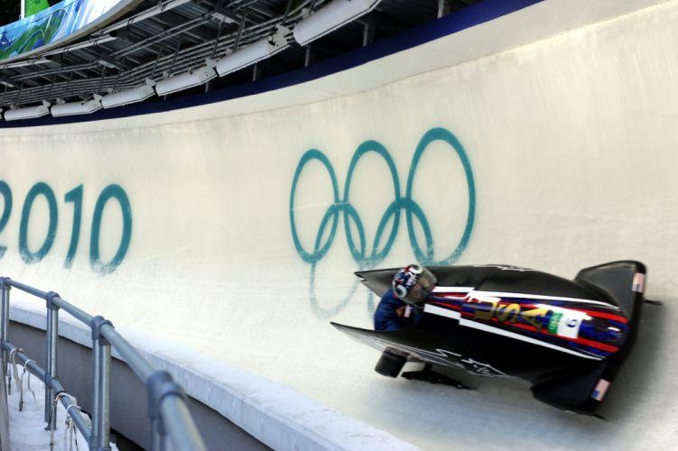 bobsleigh invierno hielo deporte wallpaper