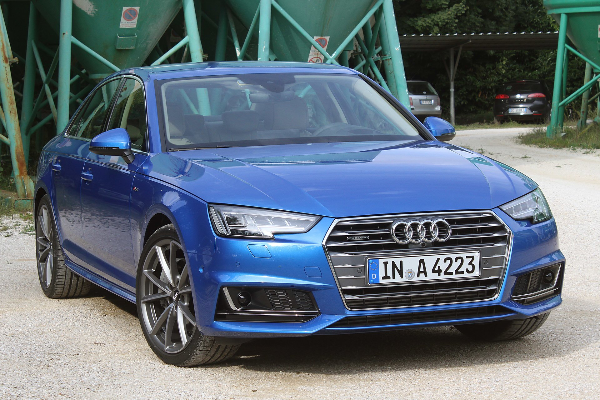 2016 Audi A4 Blue | 200+ Interior and Exterior Images