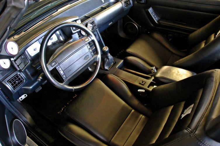 1993 Ford Mustang Convertible Custom Fox Body Saleen Pro Touring USA -10 wallpaper