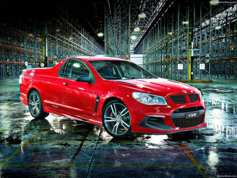HSV Gen-F2 pickup cars maloo 2016 red wallpaper