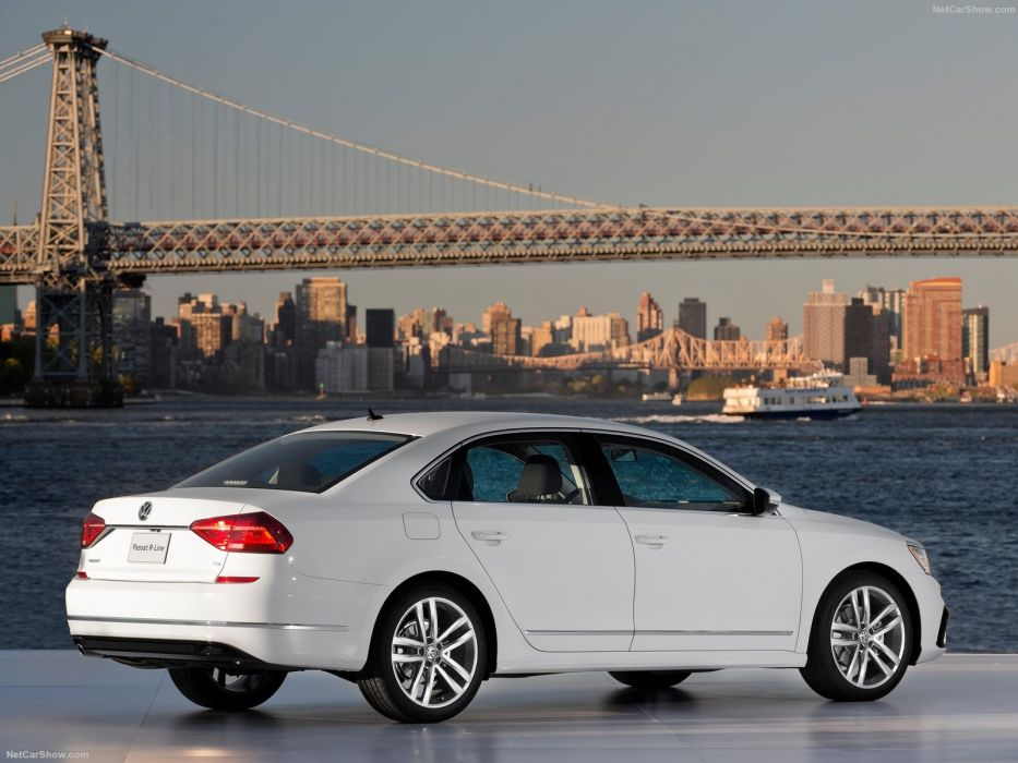 Volkswagen Passat US-Version cars sedan 2016 wallpaper
