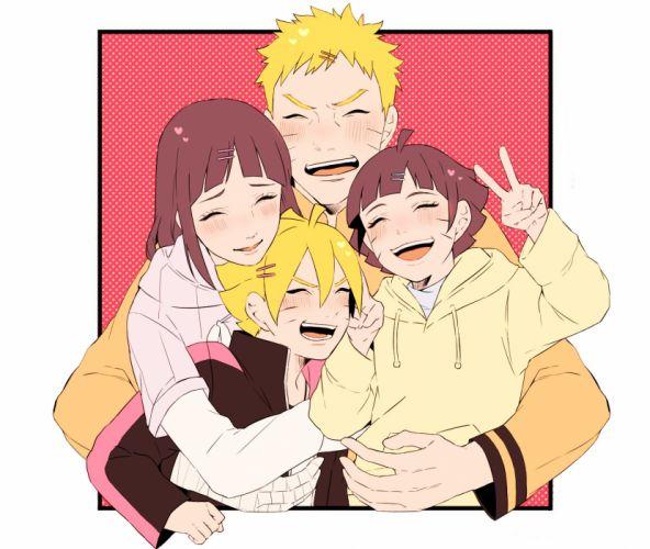 NARUTO Uzumaki Himawari Hyuuga Hinata Uzumaki Naruto Uzumaki Boruto wallpaper